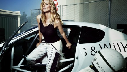 Heidi Klum per Maserati Spor Illustrated