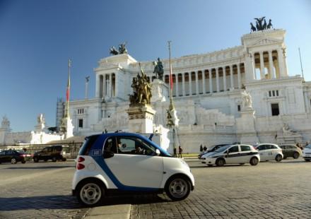 smart car2go Roma