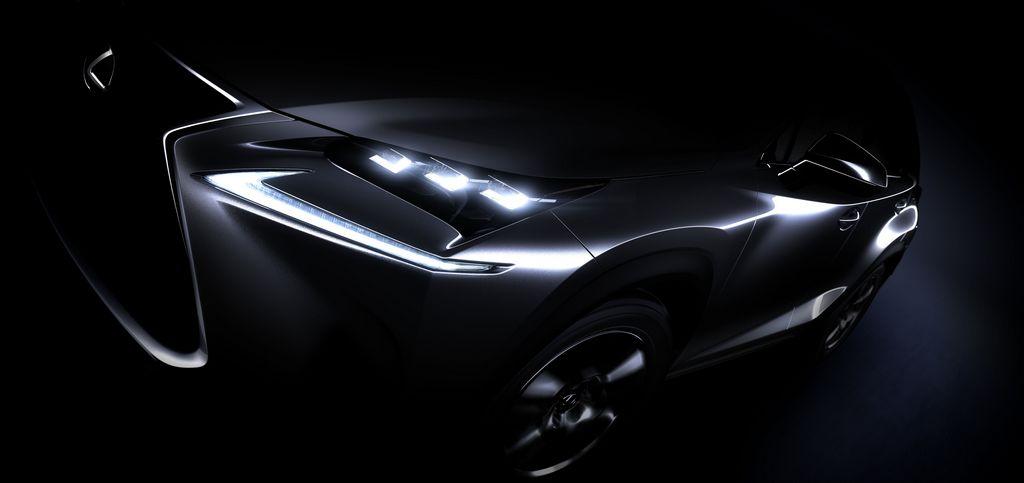 Lexus NX Hybrid Teaser