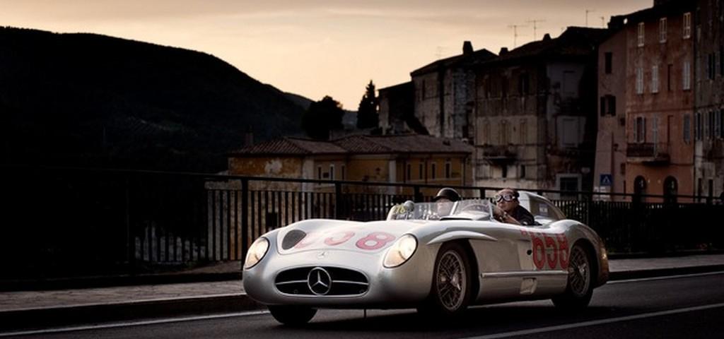 Mercedes Tributo alla 1000 Miglia