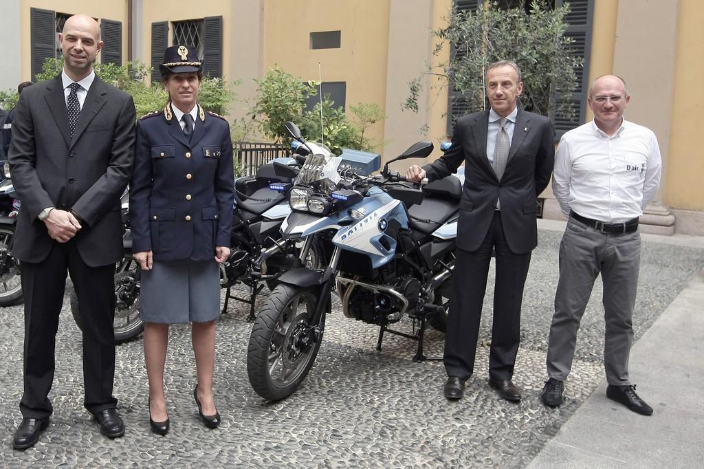 BMW F700 GS Polizia di Stato