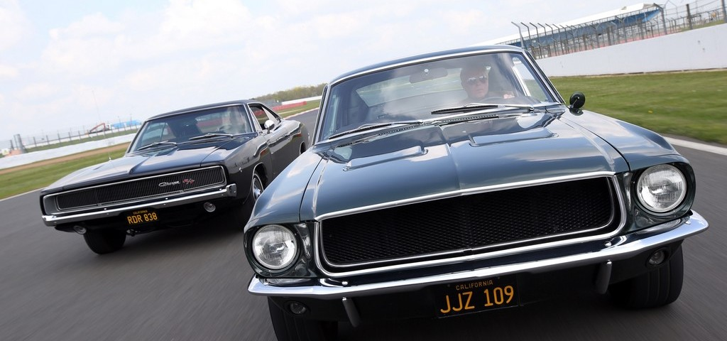Ford Mustang e Dodge Bullit Omaggio