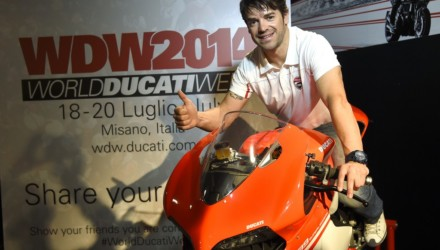 World Ducati Week Checa
