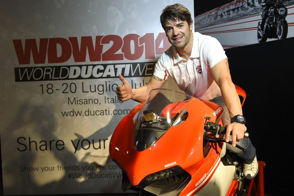 World Ducati Week Checa