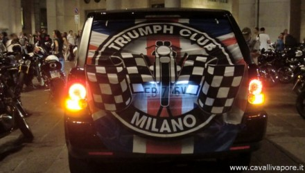 Triumph City Tour Milano 2014