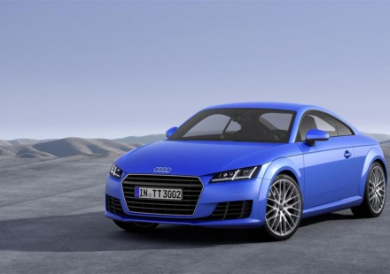 Audi nuova TT Blue