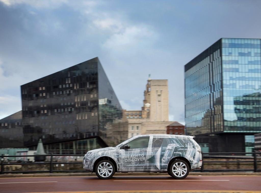 Land Rover Discovery 7 Posti