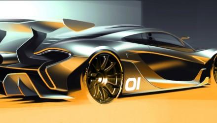McLaren P1 Sketch GTR