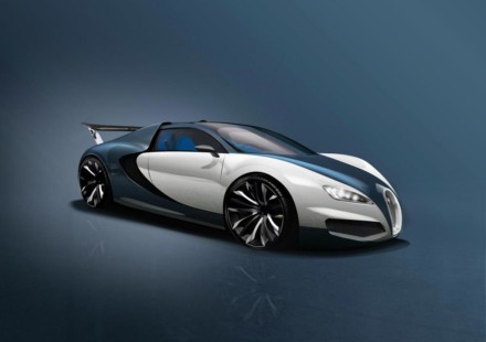 Bugatti Nuova Veyron Sketch