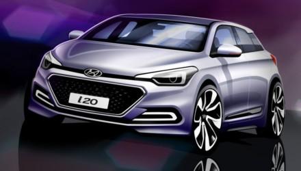 Hyundai nuova i20 Stketch