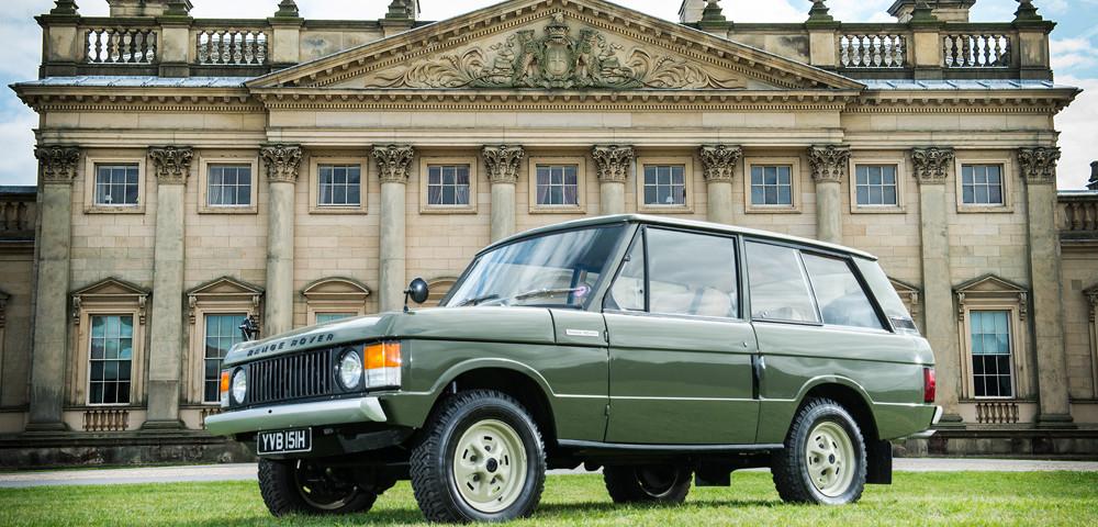 Range Rover Numero 1