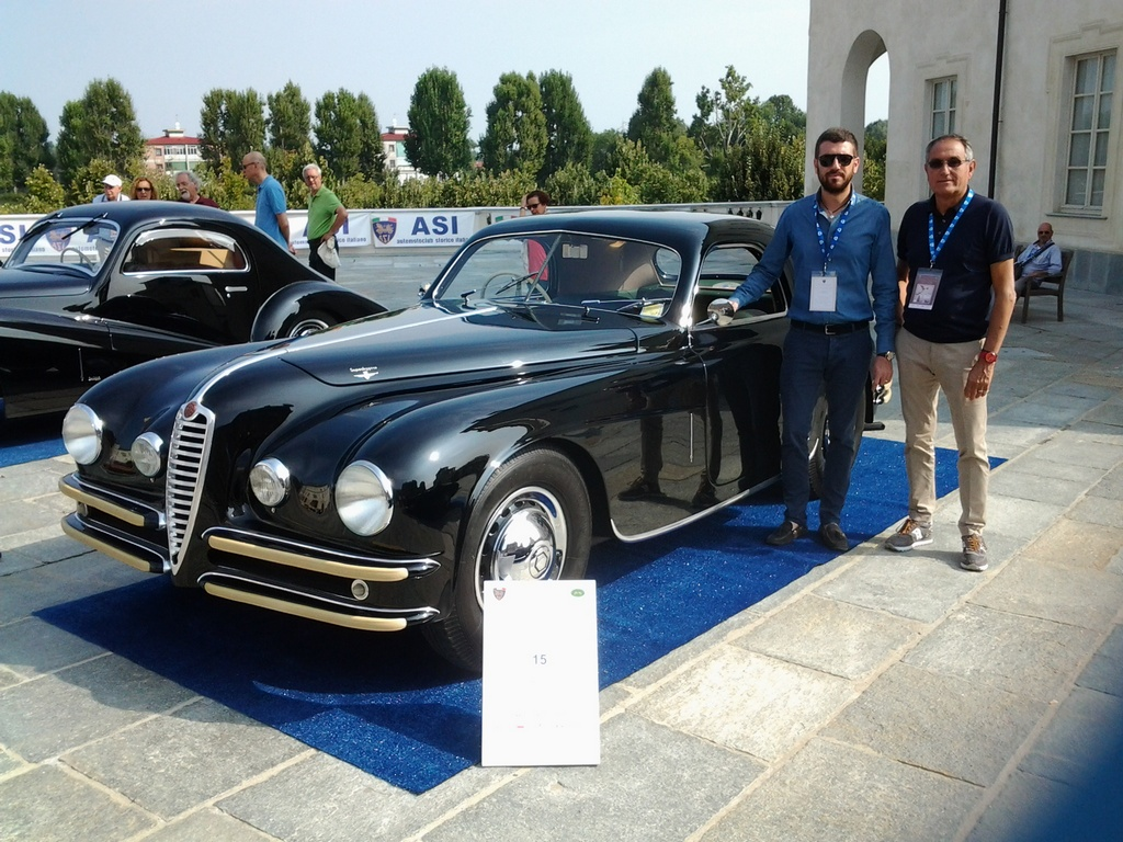 Alfa romeo 6c 2500 ss touring1947