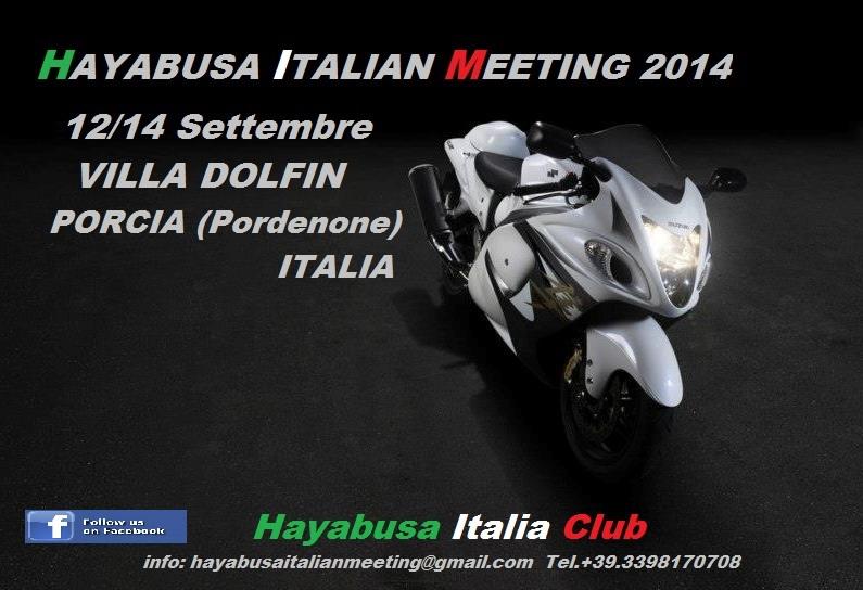 Hayabusa Italian Meeting 2014