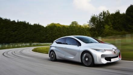 Renault EOLAB tre Quarti Anteriore