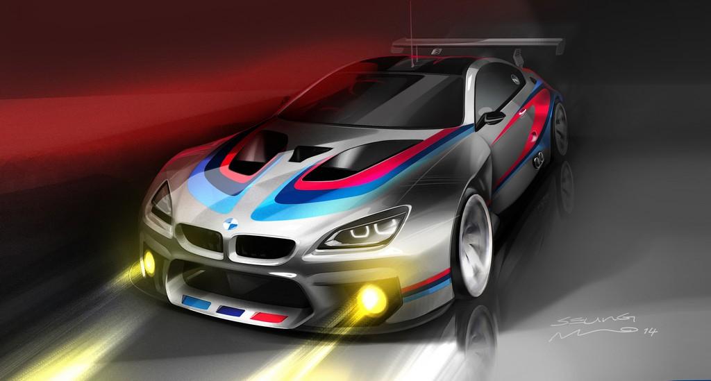BMW M6 GT3 Sketch