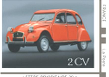 Citroen 2CV Francobollo