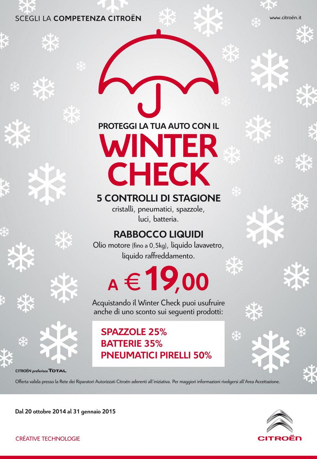 Citroen Winter Check 2014