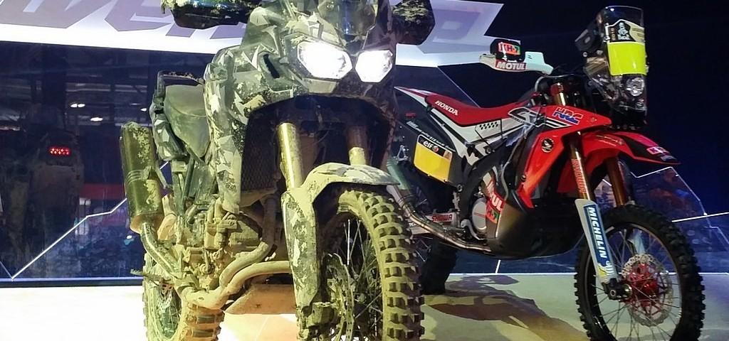 Honda True Adventure Prototipo LIVE
