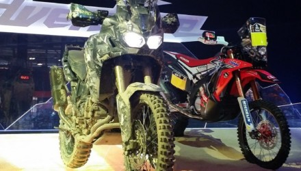 Honda True Adventure Prototipo LIVE