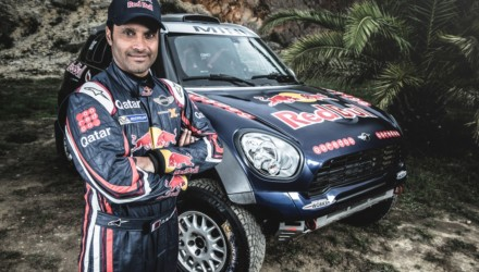 Nasser Al-Attiyah Dakar 2015 MINI