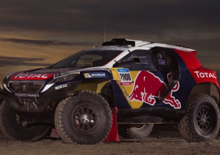 Peugeot 2008 DKR Livrea