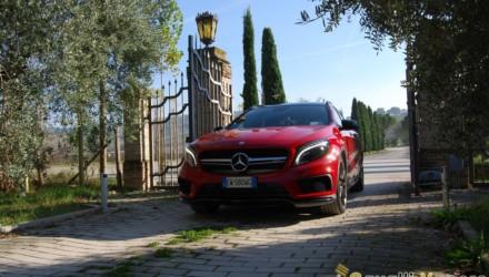 Mercedes GLA 45 AMG Prova