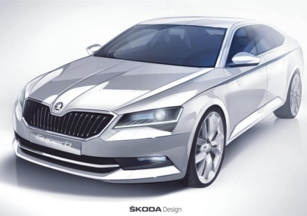 Skoda Nuova Superb Sketch