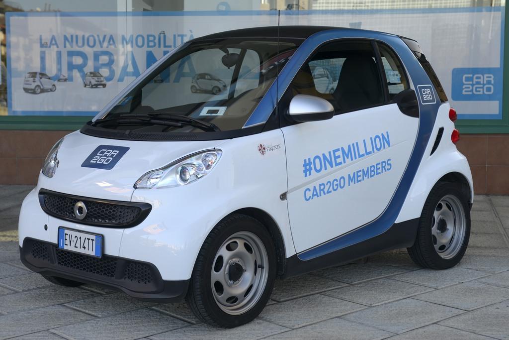 car2go 1 milione