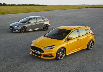 Ford Focus ST Lato Giallla e Grigia