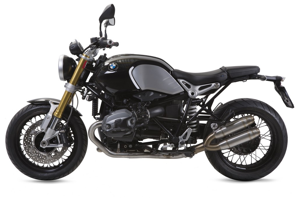 bmw r nine t in arrivo gli scarichi gpr video cavalli vapore. Black Bedroom Furniture Sets. Home Design Ideas