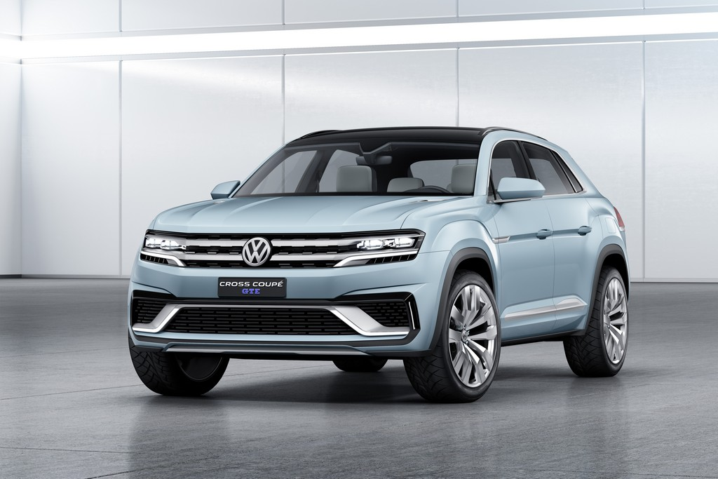 Volkswagen Cross Coupe GTE Fronte Laterale Sinistro