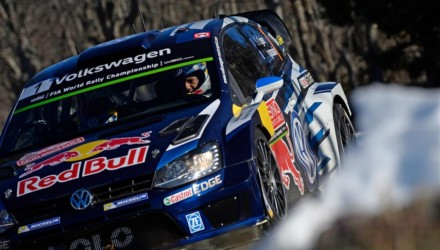 Volkswagen Polo R WRC Monte Carlo 2015