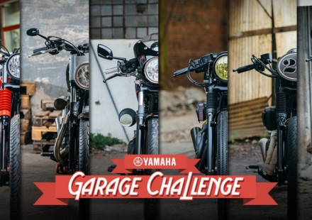Yamaha XV950 Garage