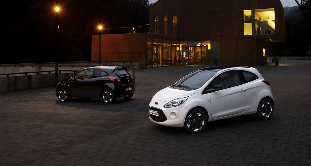 Ford Ka Black and White Edition