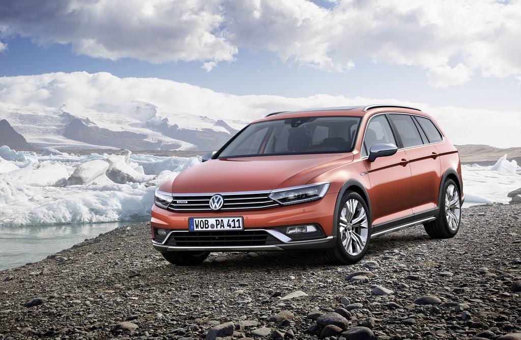 Volkswagen Passat AllTrack Tre Quarti