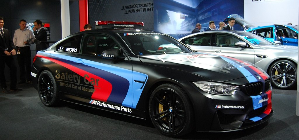 BMW M4 Safety Car LIVE GINEVRA