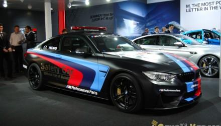 BMW M4 Safety Car LIVE GINEVRA