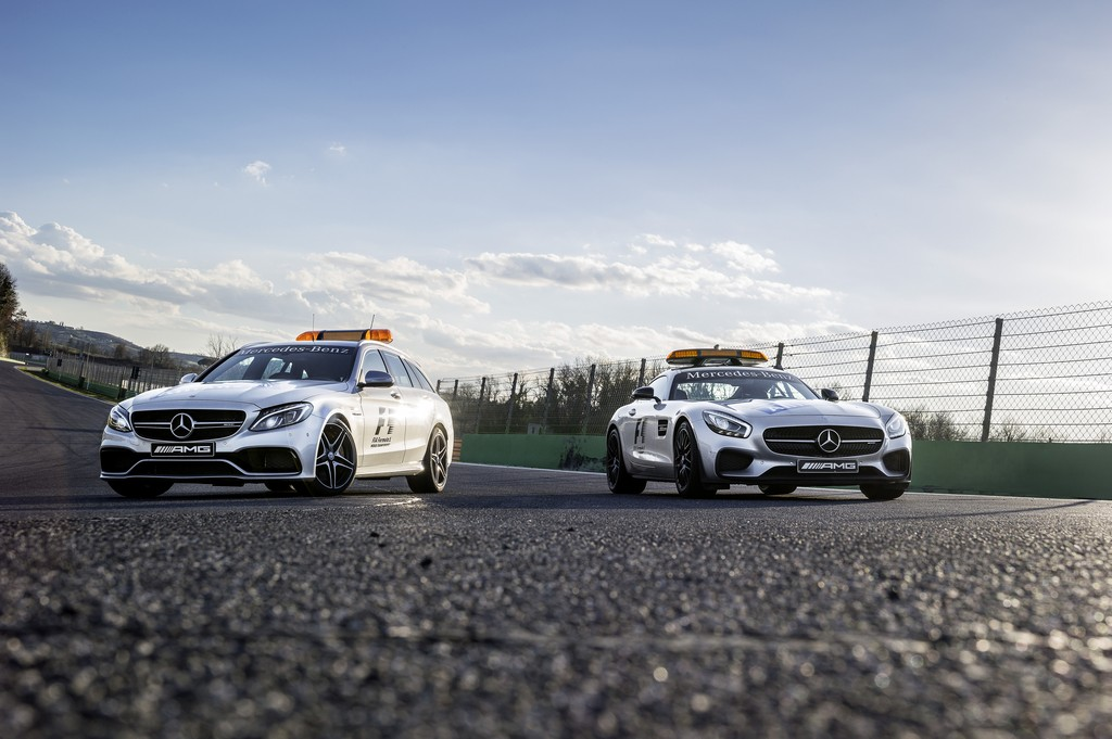 Meredes AMG Safety Car F1 2015