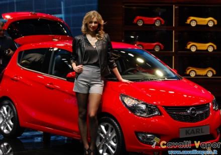 Opel Karl Ginevra Live
