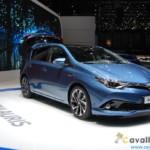 Toyota New Auris Ginevra Live