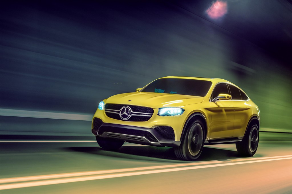 Mercedes GLC Coupe Concept