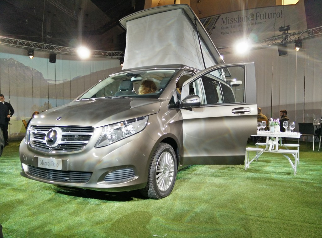 Mercedes Marco Polo Oldani LIVE