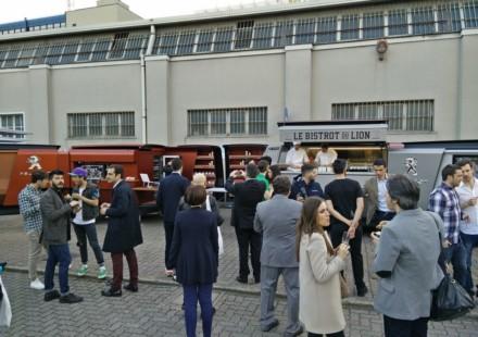 Peugeot FoodTruck Fuorisalone Millano 2015