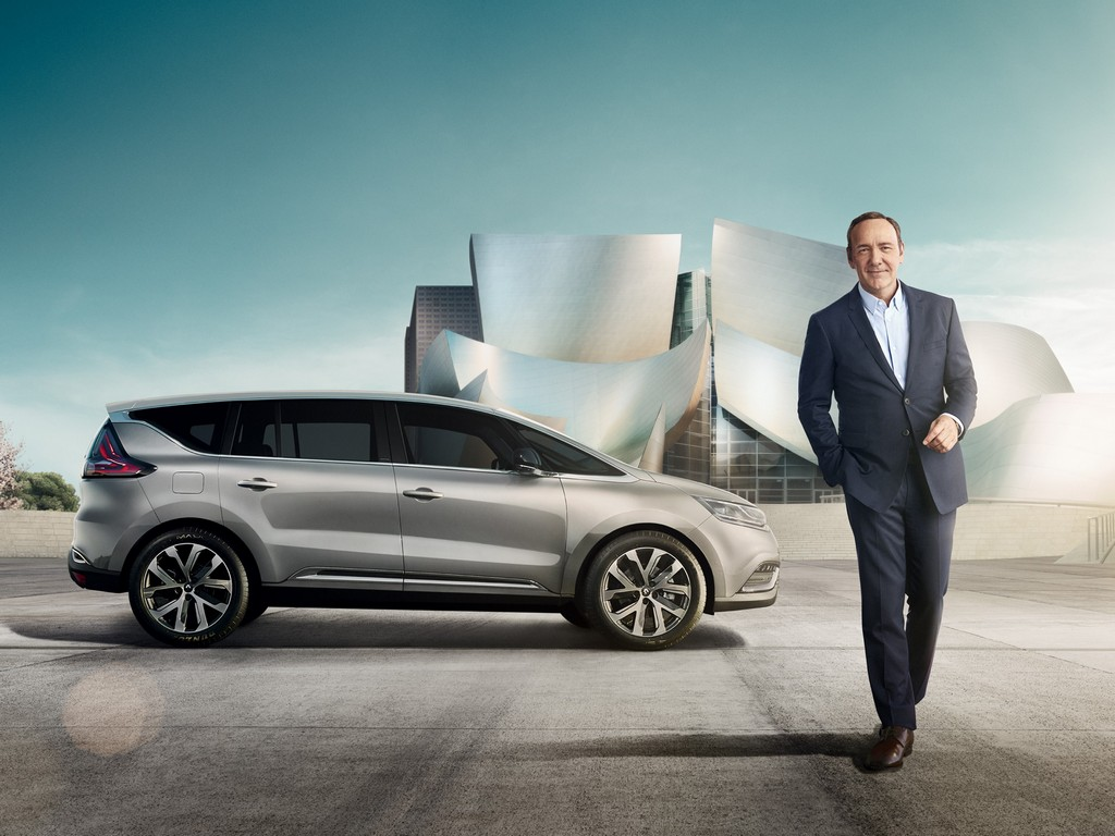 Renault Espace Kevin Spacey