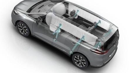 Renault nuova Espace 5 Stelle Euro NCAP