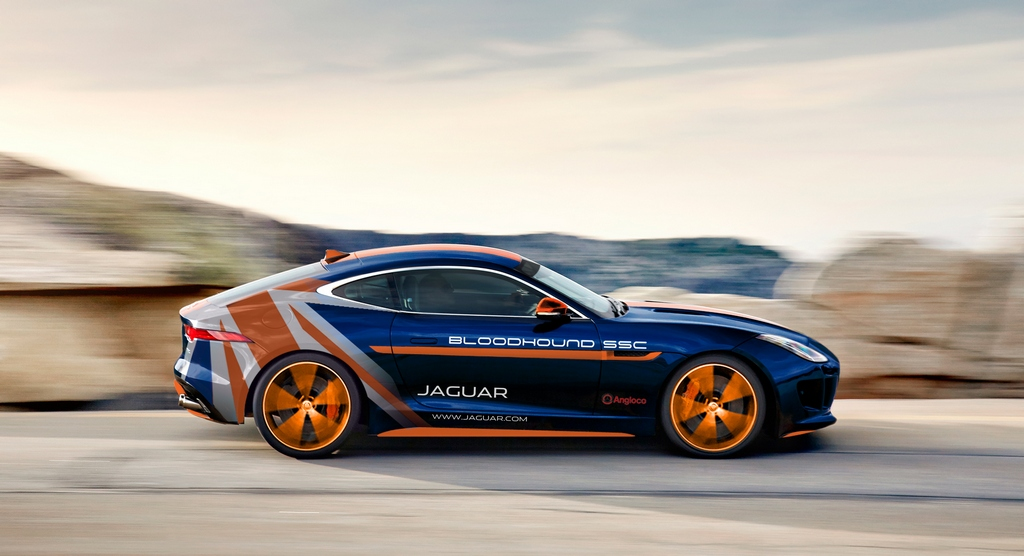 Jaguar F-TYPE R AWD Bloodhound SSC RRV