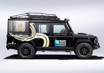 Land Rover Defender Rugby World Cup 2015