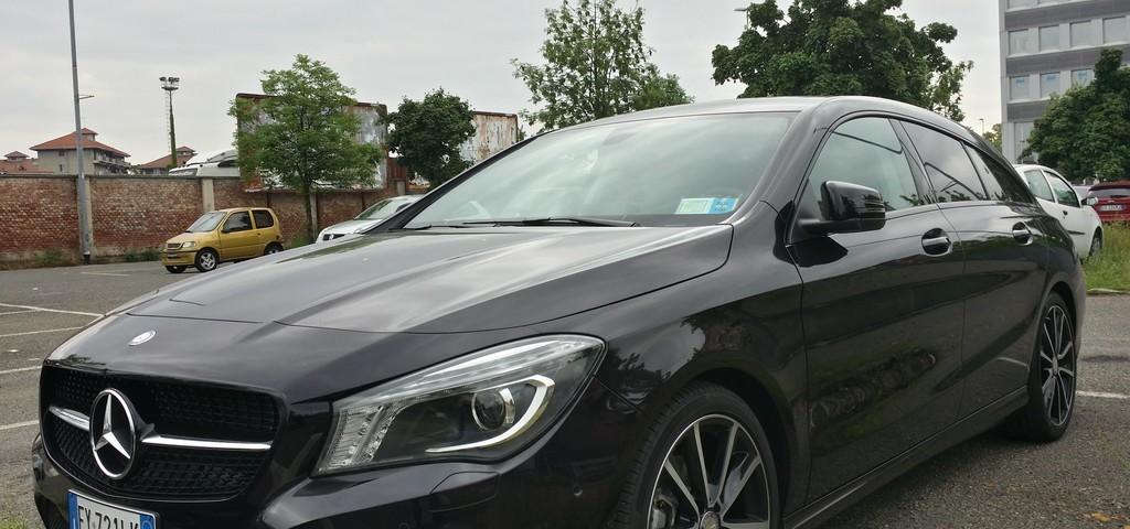 Mercedes CLA Shooting Brake Prova