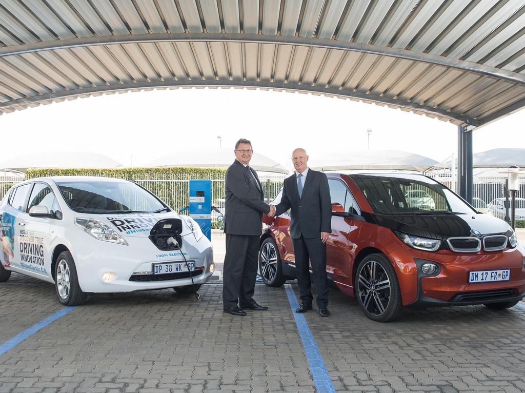 Nissan e BMW insieme