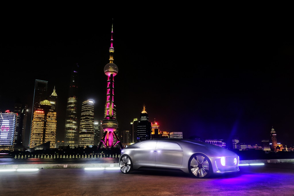 Mercedes Benz al CES Shanghai
